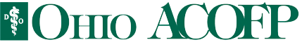 Ohio ACOFP logo. Click for home page.
